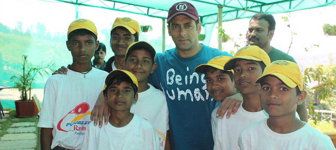 Salman Khan at ravine hotel