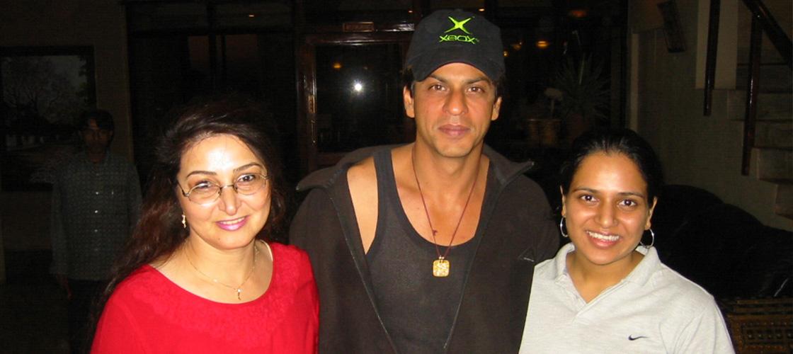 Shah Rukh Khan at Ravine Hotel