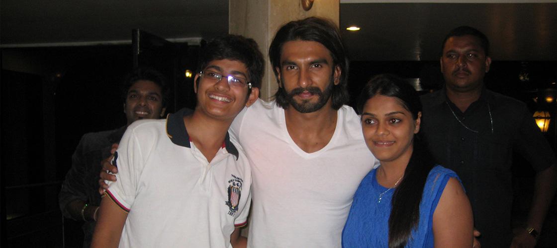 Ranveer Singh Bollywood Celebrities at Ravine Hotel