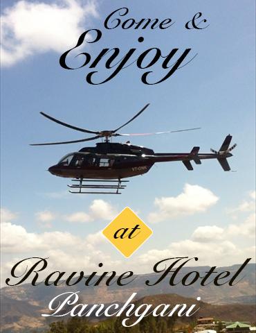 Ravine hotel helipad