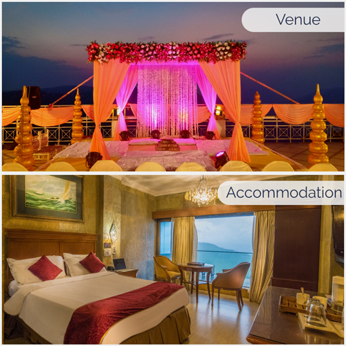 Bliss Package Venue + Accommodation