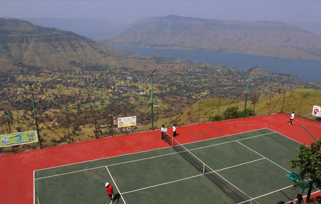 highest tennis court in world