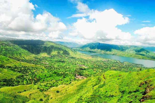 Beautiful Valley View in Panchgani